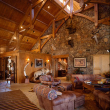 Texas Timber Frames Top Interiors