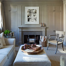 Contemporary Living Room by Mary Douglas Drysdale