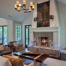 Traditional Living Room by Glennwood Custom Builders (NC)