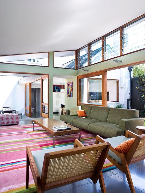 Cool Modern Minimalist Living Room Houzz With Interior Design