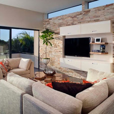 Modern Living Room by KW Designs