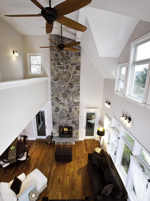 two story hanging ceiling fan houzz. Black Bedroom Furniture Sets. Home Design Ideas