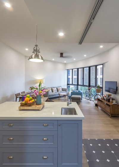 Living Room by Country Concept Pte Ltd - Singapore