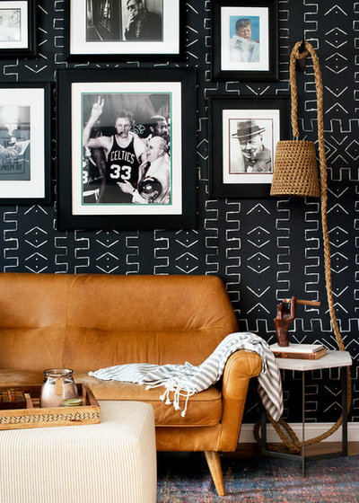 Eclectic Living Room by Kate Lester Interiors