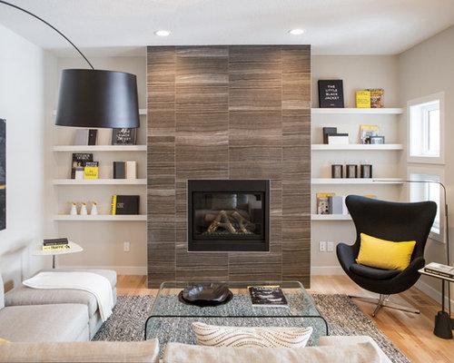 Square Fireplace   Houzz