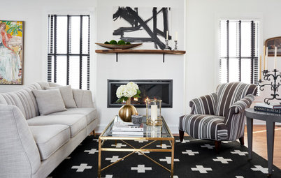 Old Meets New in a Designer's Own Home in Virginia