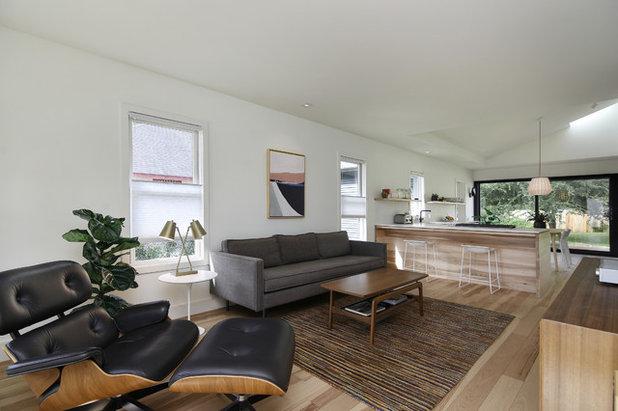 Scandinavian Living Room by Arbib Hughey Design