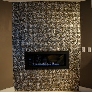 Mother Of Pearl Fireplace Houzz
