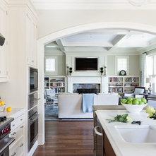 traditional living room by marika meyer interiors llc
