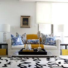 modern living room by Caitlin Wilson