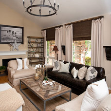 contemporary living room by Blackband Design