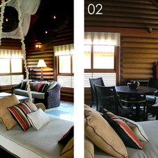 Tropical Living Room by Blacksheep