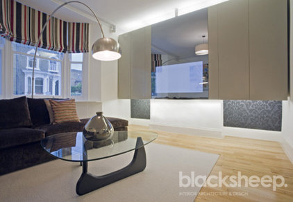 Contemporary Living Room by Blacksheep