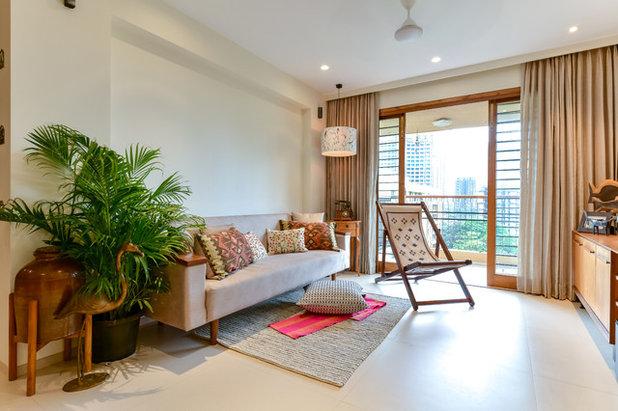 Coastal Living Room by Sameer Chawda Photography