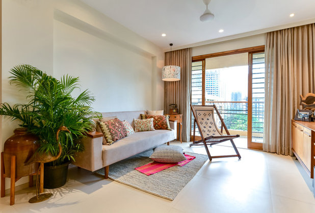 Contemporary Living Room by Sameer Chawda Photography