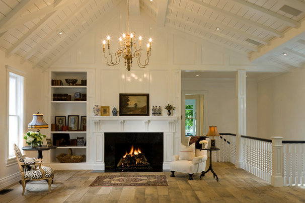 Traditional Living Room by Rybak Architecture & Development, P.C.
