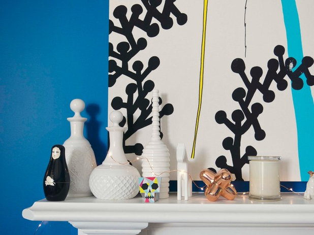 Eclectic Living Room by Alex Fulton Design