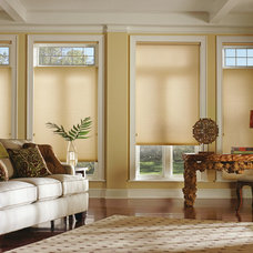 Traditional Living Room by Shades IN Place