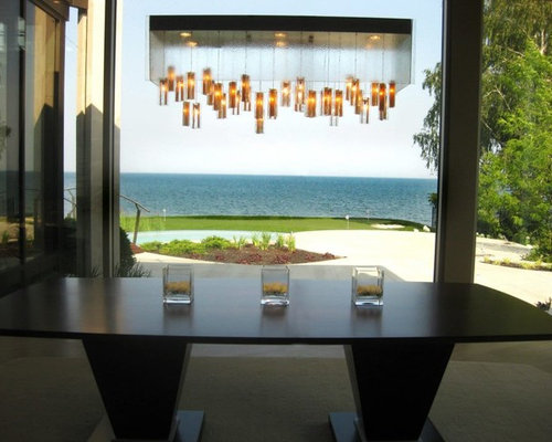 MODERN DINING ROOM CHANDELIER, CONTEMPORARY PENDANT LIGHTING FOR ...