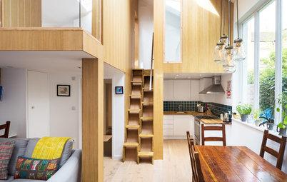 Houzzbesuch: Schlafboxen auf Stelzen für ein Londoner Minihaus