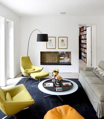 Contemporary Living Room by Powell Tuck Associates