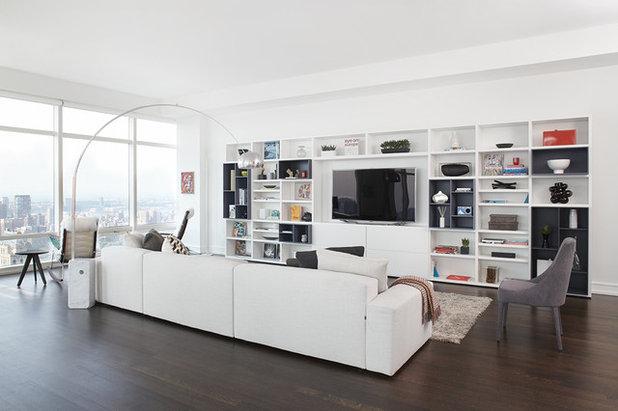 optez pour un meuble tv-bibliothèque - Meuble Tv Bibliotheque Design