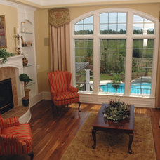 Traditional Living Room by J. Hall Homes, Inc.