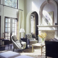 Traditional Living Room by Blount Architectual and Interior Design