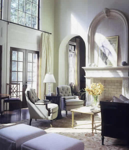 amusing two story living room | Best Two Story Window Treatments Design Ideas & Remodel ...