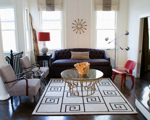 Superior Inspiration For A Contemporary Living Room Remodel In Atlanta