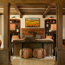 Houzz Tour: Woodsy Sophistication in a North Carolina Retreat