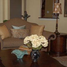 Traditional Living Room by Dorsch Interiors, LLC