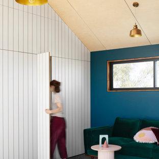Scandinavian living room in Melbourne.