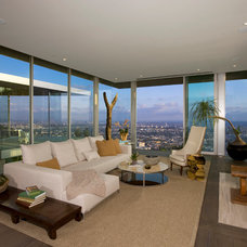 Contemporary Living Room by Josh Brown Design