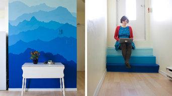 Blue Mountain Mural