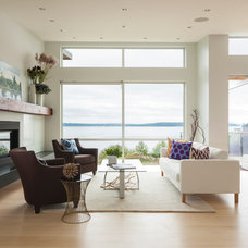 Contemporary Living Room by Johnson Squared Architecture + Planning