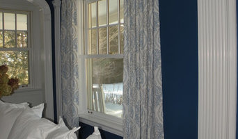 Blue/White window treatments & upholstery - Glen Ridge, NJ