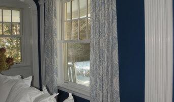 Blue/White window treatments & upholstery - Glen Ridge, NJ