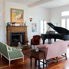 Traditional Living Room by Nadia Watts Interior Design