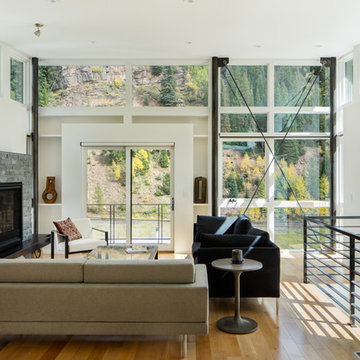 Blueline Architects Contemporary Mountain Residence