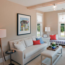 Beach Style Family Room by Insignia Homes