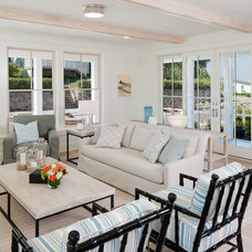 Beach Style Living Room by Insignia Homes