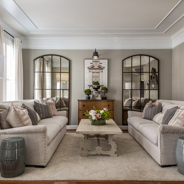 Blushing Neutral Formal Living Room
