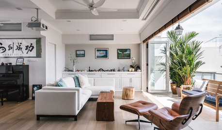 Houzz Tour: This Penthouse Gets A Hamptons-inspired Makeover