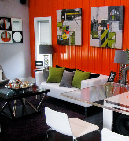 Eclectic Living Room by Gallery Direct