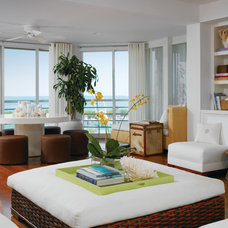 Beach Style Family Room by foley&cox