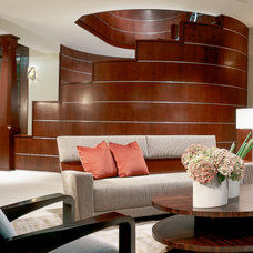 Contemporary Living Room by Michael Wolk Design Associates