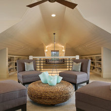 Contemporary Living Room by Maison de Reve Builders LLC