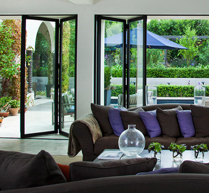 Modern Patio by LaCantina Doors