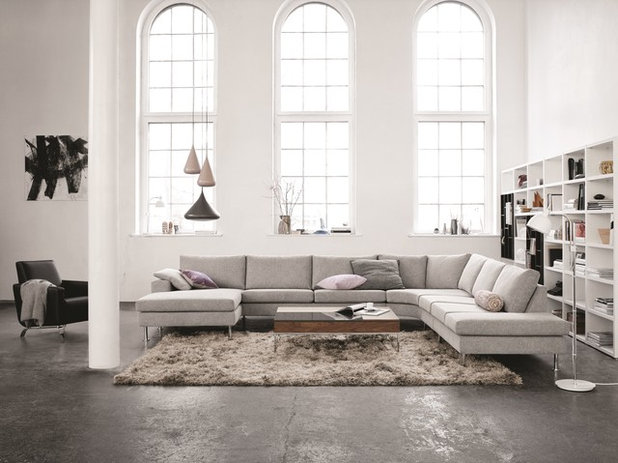 Contemporary Living Room by BoConcept Bristol